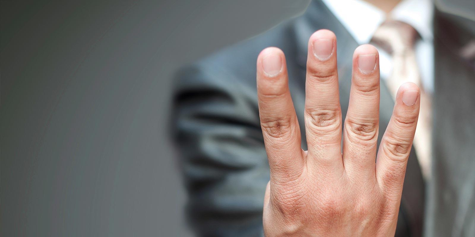 4 factors fingers