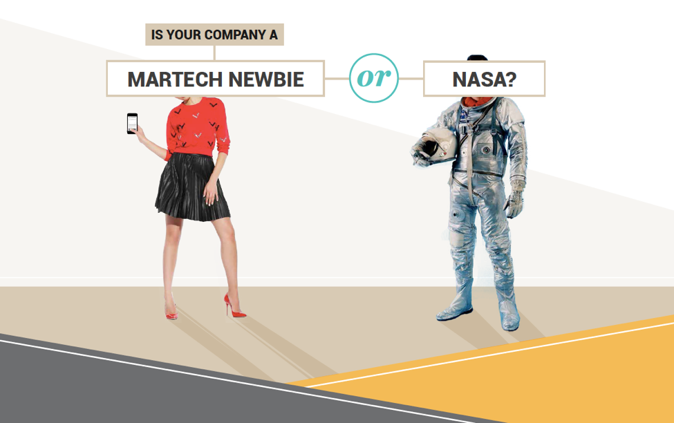 martech newbie or NASA