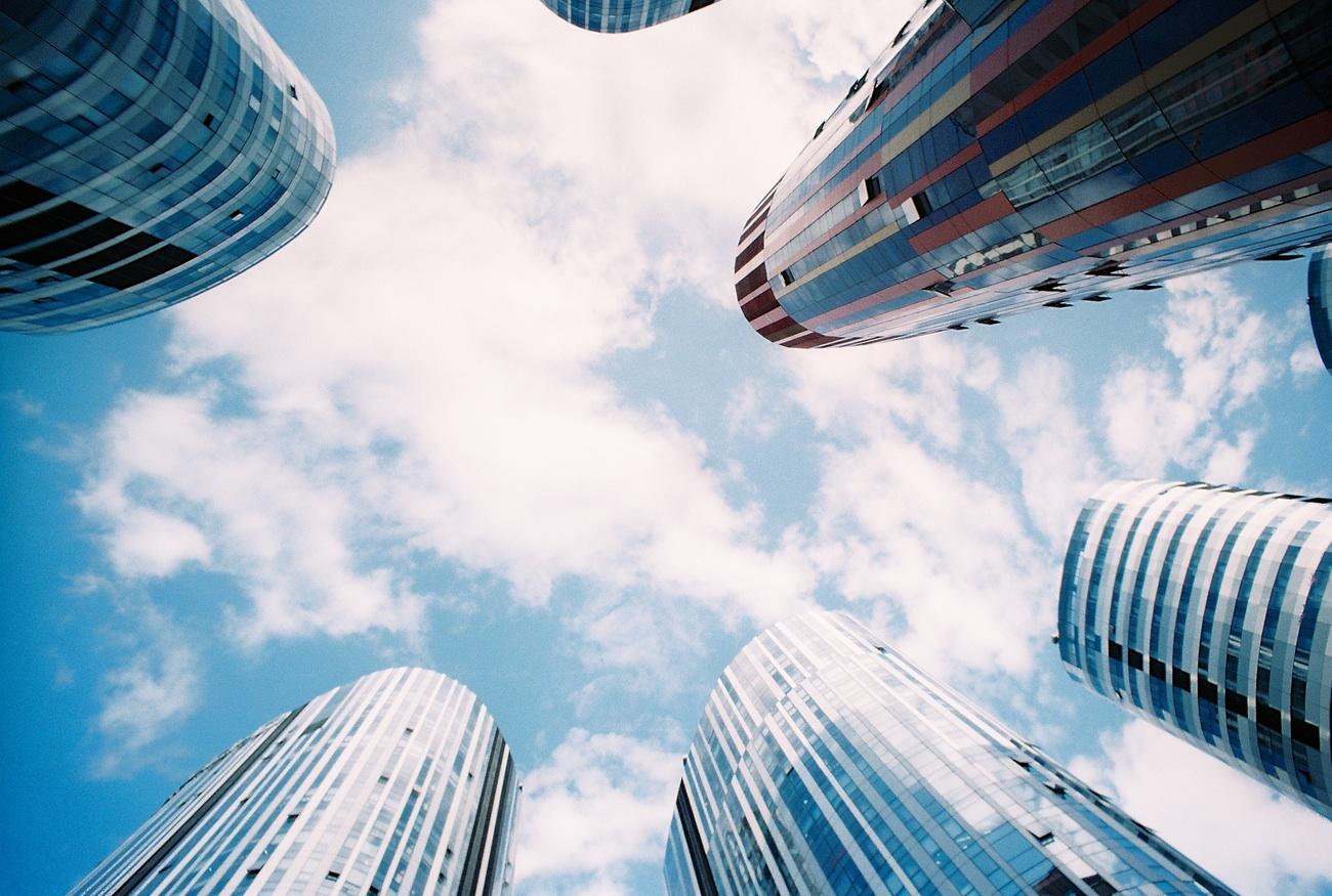 buildings skyward
