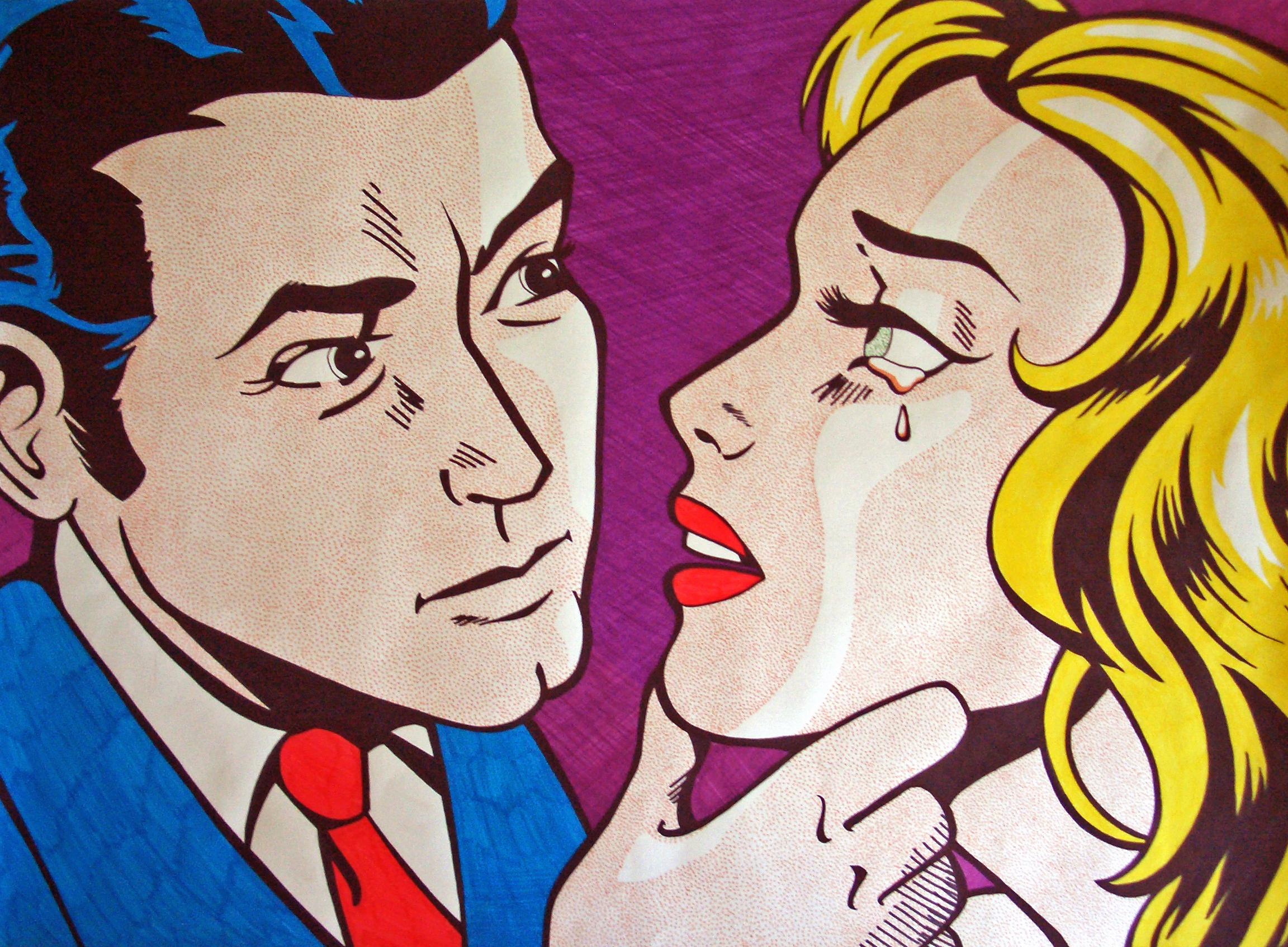 Roy Lichtenstein Emulation