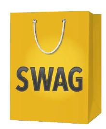 tech-moji dreamforce swag bag