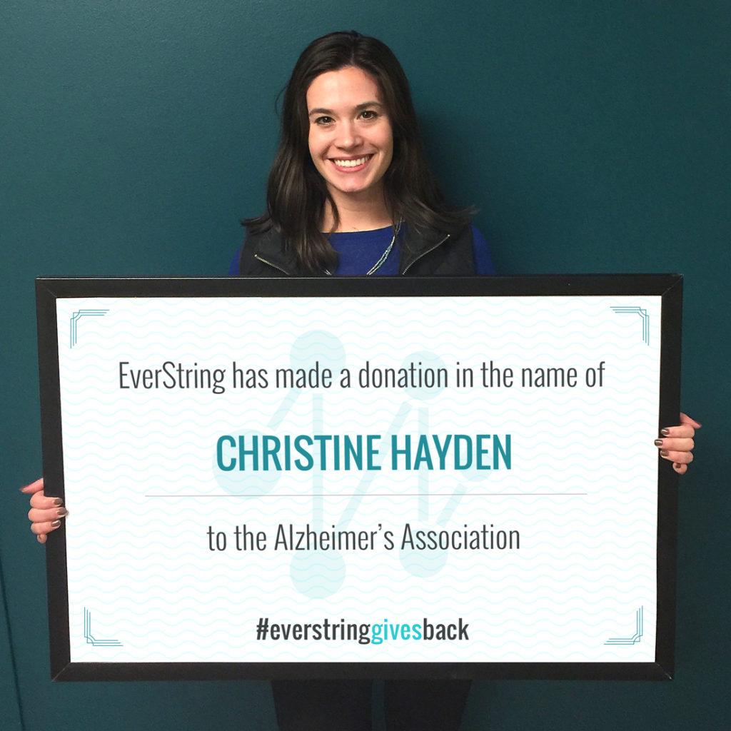 christine-hayden_alzheimers-donation