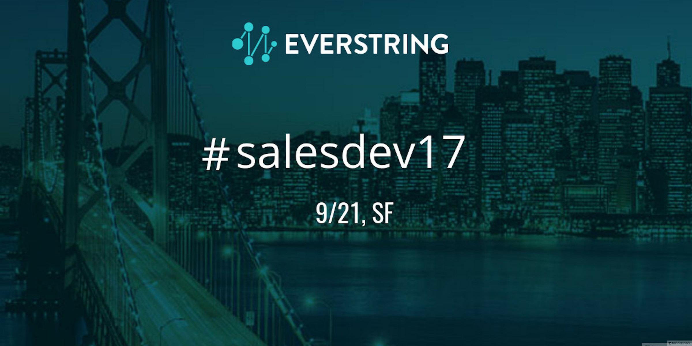 Join the Best & Brightest in Sales Development at the First-Ever #SalesDev17!