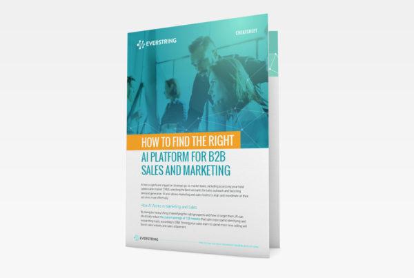 Cheatsheet: How to Find the Right B2B Marketing Platform